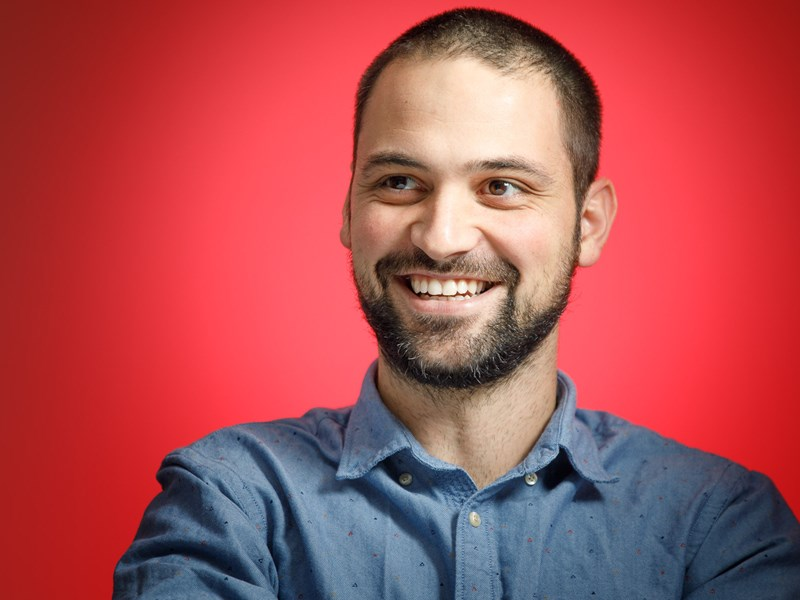 Spasimir Dinev ('08), Head of UX/UI at Paysafe Group: 'If you can't find something – create it'