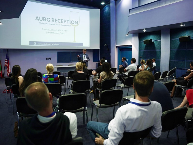 Long-Awaited Face-to-Face Alumni Gathering Discusses University Developments, AUBG's 30th Anniversary