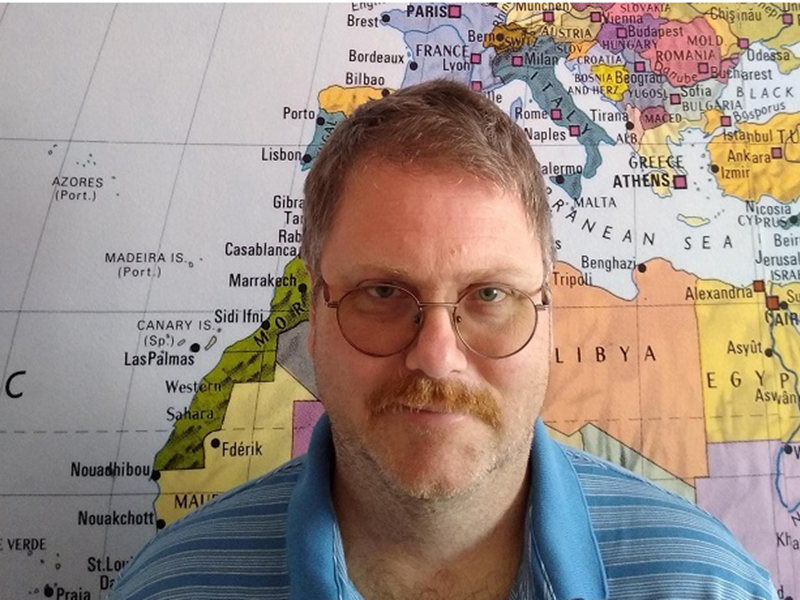Fulbright U.S. Scholar Cristofer Scarboro to teach Cold War America at AUBG