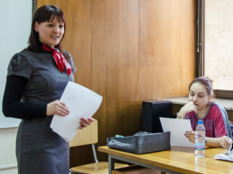AUBG Professor Krastanka Bozhinova: 'For me, French was 'love at first sight''