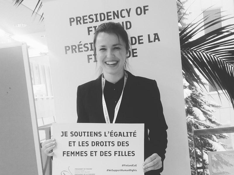 Yelyzaveta Glybchenko ('18) On Studying Peace, Learning Languages and Global Volunteering