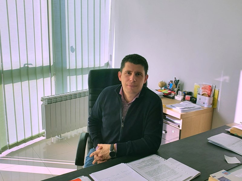 Plamen Lazarov (EMBA'16): 'My goal is to help Bulgarian students become highly skilled workers'