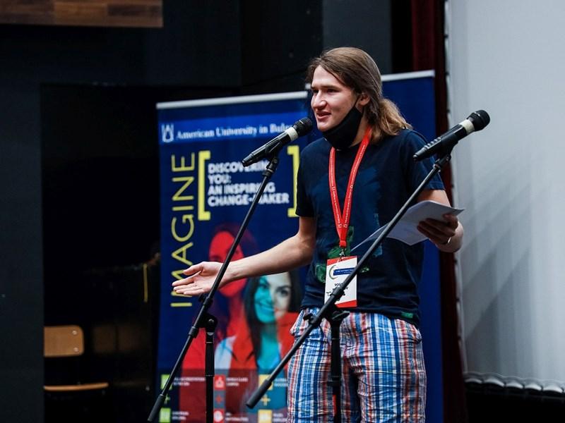 Yossif Marinov Wins AUBG MultiTalent Quest 2021, Full Four-Year Scholarship