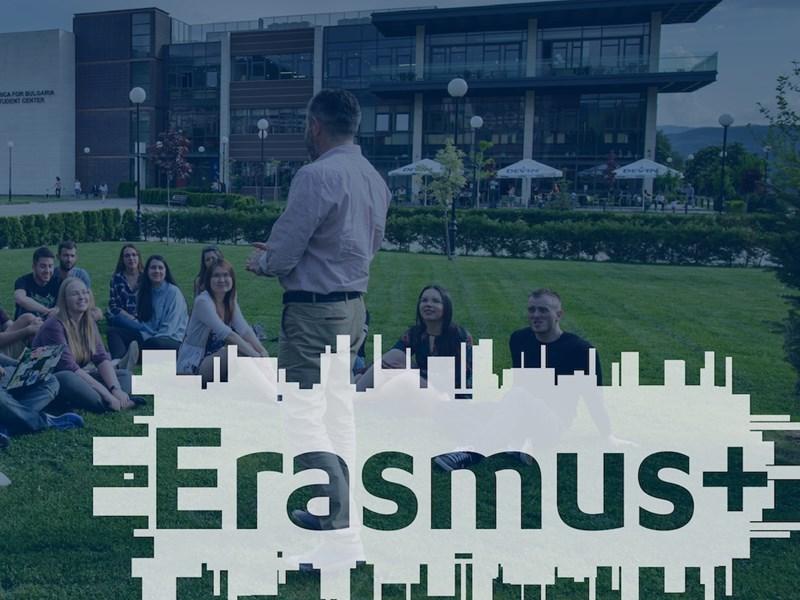 AUBG Awarded Erasmus Charter for Higher Education for 2021-2027