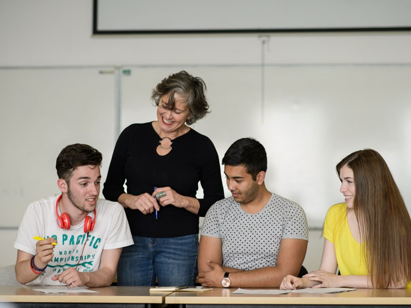 Professor Laura Kelly: 'The classroom is where I feel I am at my best'