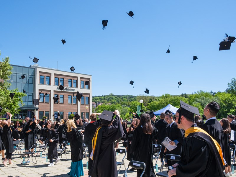 AUBG Celebrates Classes of 2020 and 2021 at Two Commencement Ceremonies