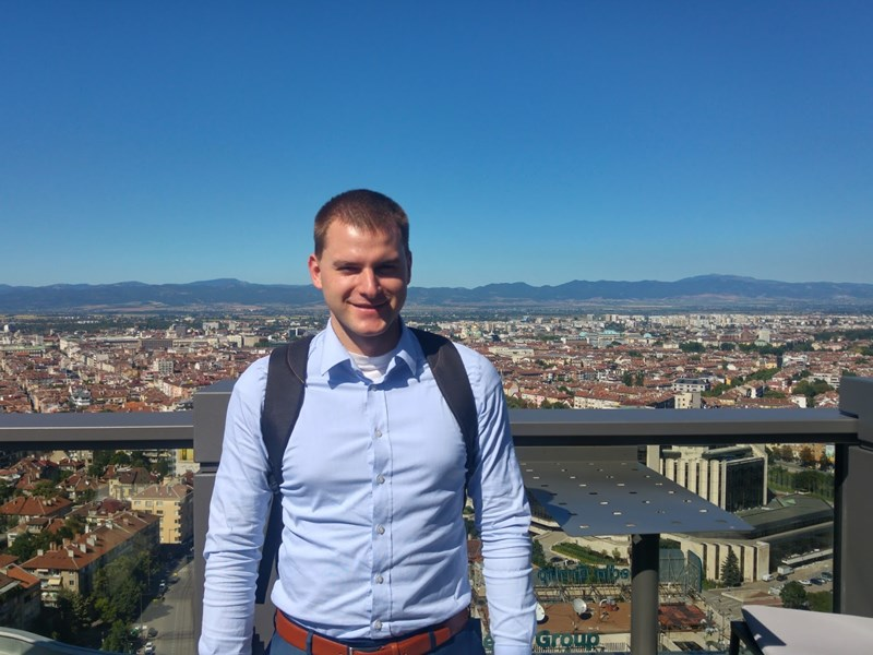 Nikolay Gerdzhikov ('13): 'I am grateful to AUBG for providing the conditions to explore my interests'