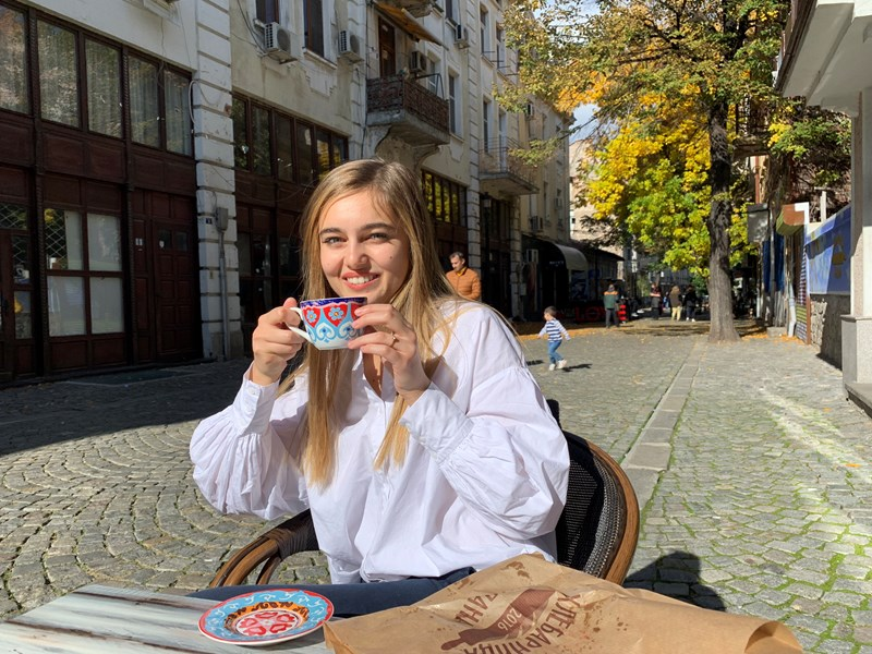 AUBG student Martina Gerenska: 'Poetry has changed me in many ways'