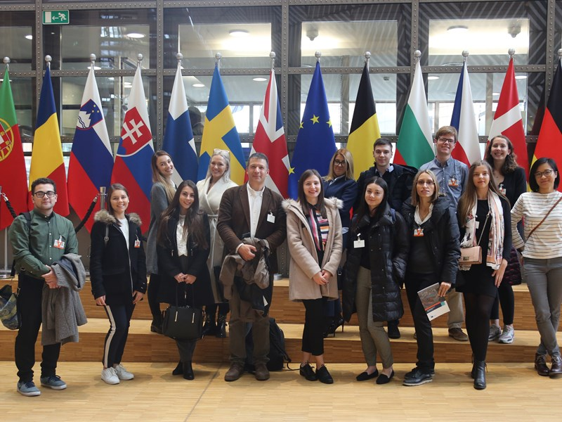 AUBG Students Get a Taste of Real World in Brussels