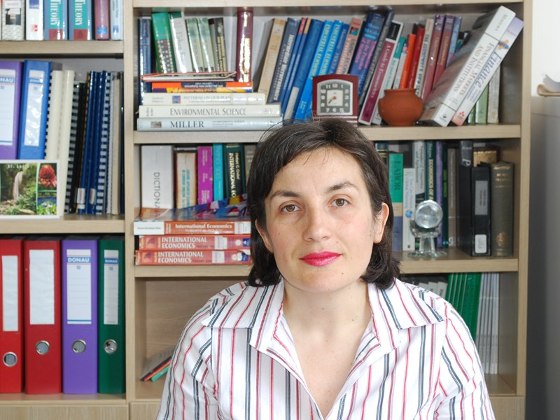 Professor Tamara Todorova: At AUBG, 'I was attracted by the academic curiosity of the students and the way economics is taught'