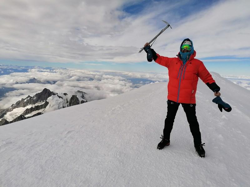 Martin Petrov (EMBA'16), Who Climbed Montblanc to Help Fight Diabetes