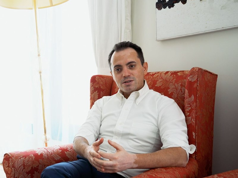 AUBG Alumni Talks: Elvin Guri ('96) Talks Life after Graduation, Lessons from History and Giving Back