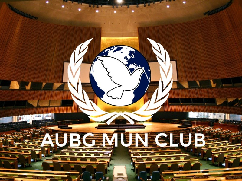 AUBG Model United Nations 2021: Diplomacy and Conflict Resolution