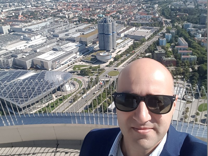 Stanislav at the EMBA Business Trip <br />