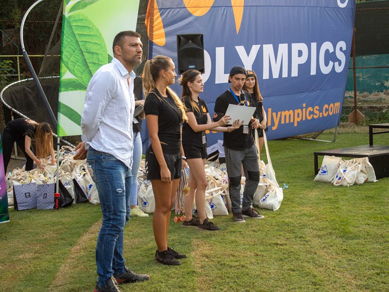 AUBG Olympics Hosts First-Ever Fall Olympic Days